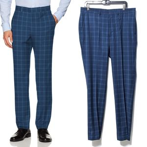 NWT {UNLISTED} Kenneth Cole Flat Front Plaid Pants